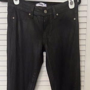 Paige Verdugo Ultra Skinny Coated Denim Jeans